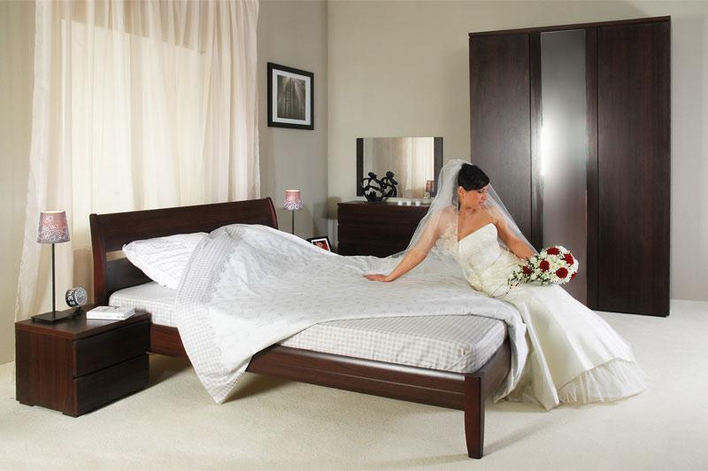 Спальня интерьер фото венге