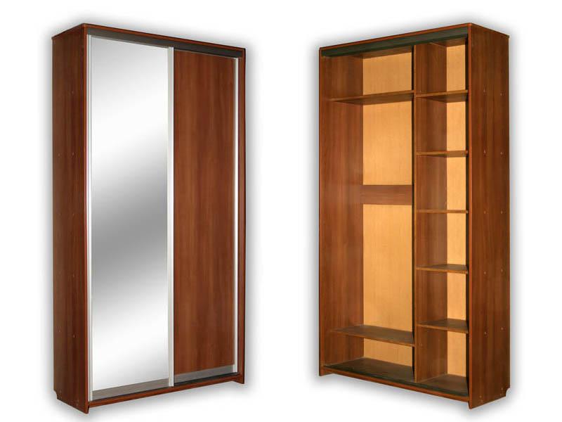 Шкаф купе 2 дверный фото