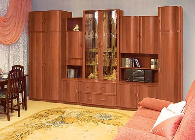 Интерьер гостиной со стенкой фото воронеж - мебель тут!.