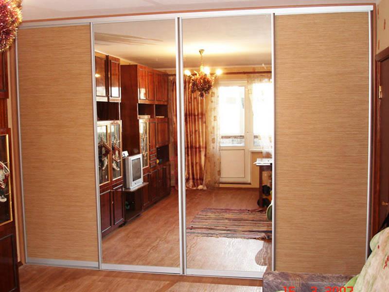 Фото шкафов купе и гардеробных комнат в москве на заказ, и д.