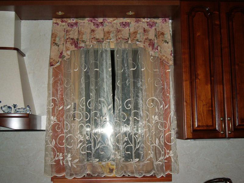 Дизайн штор для кухни фото.