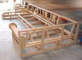 Деревянные каркасы диванов