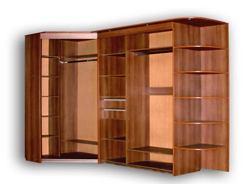 Шкаф угловой встроенный