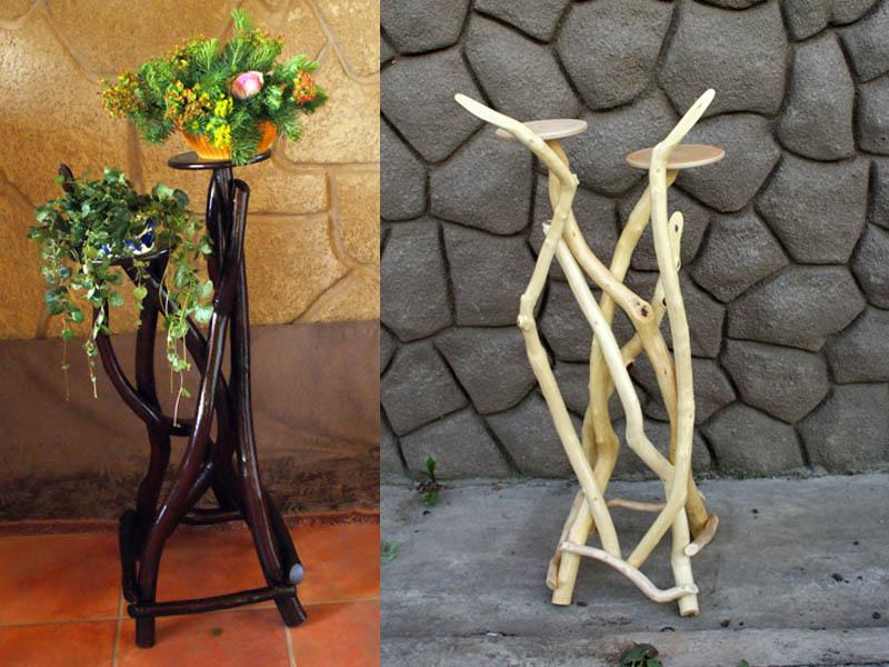 Фото подставок из дерева для цветов своими руками фото для