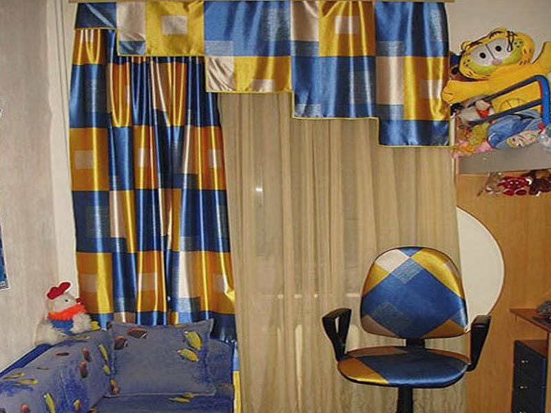Сшить шторы в детскую фото 1