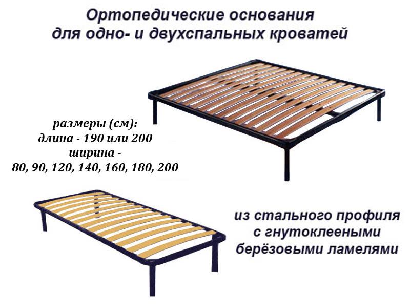 Ортопедическое основание для кровати своими руками