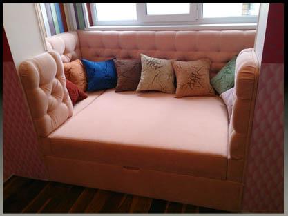 Мягкая мебель лоджия.